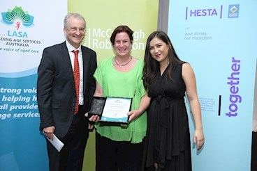 Sue shines at LASA Qld awards