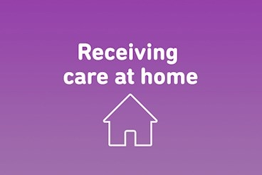 Receiving care at home - COVID-19 information